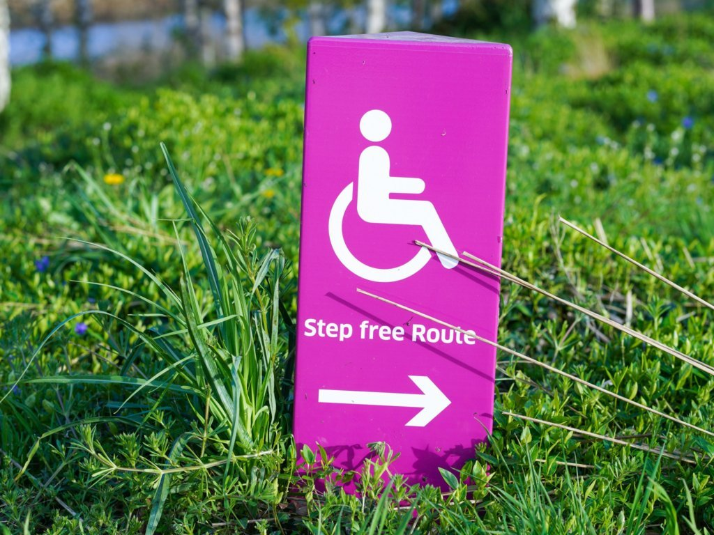Step free Route