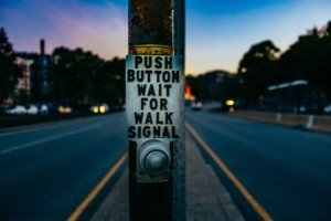 Audible Crossing Signal Button